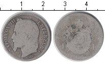 Изображение Монеты Франция 1 франк 1868 Серебро VF