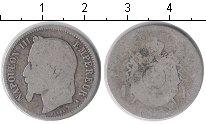 Изображение Монеты Франция 1 франк 1868 Серебро VF Наполеон III