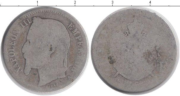 Картинка Монеты Франция 1 франк Серебро 1868
