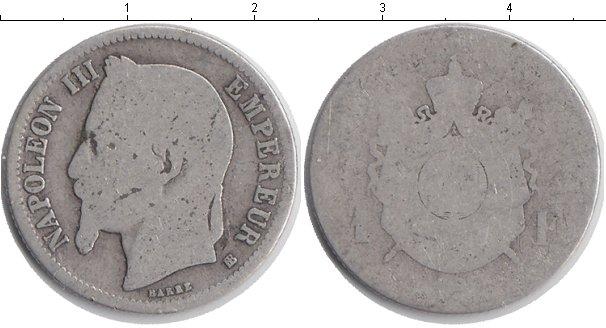 Картинка Монеты Франция 1 франк Серебро 0