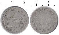 Изображение Монеты Франция 1 франк 1872 Серебро  А