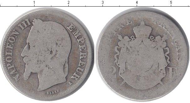 Картинка Монеты Франция 2 франка Серебро 0