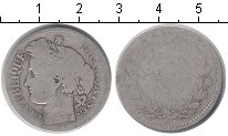 Изображение Монеты Франция 2 франка 0 Серебро VF