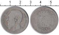 Изображение Монеты Бельгия 2 франка 1868 Серебро VF Леопольд II