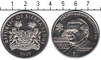 Изображение Мелочь Сьерра-Леоне 1 доллар 2005 Медно-никель UNC