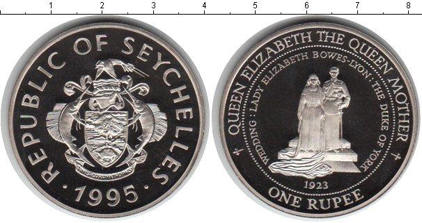 Картинка Мелочь Сейшелы 1 рупия Медно-никель 1995