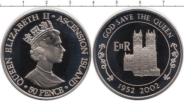 Картинка Мелочь Аскенсион 50 пенсов  2002