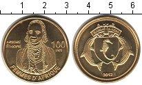 Изображение Мелочь Франция Бассас-да-Индия 100 франков 2012 Медь UNC-