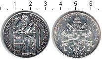 Изображение Монеты Ватикан 1000 лир 1986 Серебро UNC- Иоанн Павел II