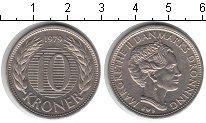 Изображение Мелочь Дания 10 крон 1979 Медно-никель XF
