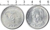 Изображение Мелочь Югославия 1000 динар 1980 Серебро UNC- Иосип Броз Тито
