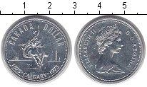 Изображение Монеты Канада 1 доллар 1975 Серебро XF