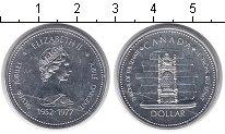 Изображение Монеты Канада 1 доллар 1977 Серебро UNC- Елизавета II. Серебр