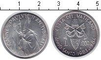 Изображение Монеты Ватикан 1000 лир 1983 Серебро UNC-