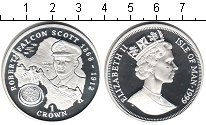 Изображение Монеты Остров Мэн 1 крона 1999 Серебро Proof- Елизавета II. Роберт
