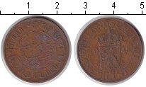 Изображение Монеты Нидерландская Индия 2 1/2 цента 1945 Медь
