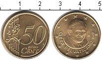 Изображение Монеты Ватикан 50 евроцентов 2012 Медь UNC-