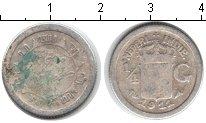 Изображение Монеты Нидерландская Индия 1/4 гульдена 1911 Серебро