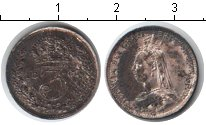 Изображение Монеты Великобритания 3 пенса 1887 Серебро VF Виктория