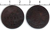 Изображение Монеты Юлих-Берг 1/4 стюбера 1784 Медь  PM
