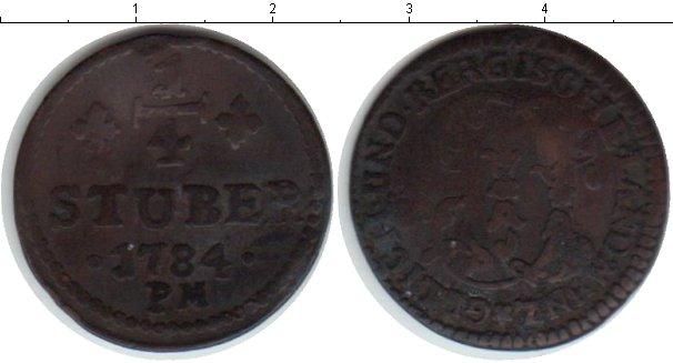 Картинка Монеты Юлих-Берг 1/4 стюбера Медь 1784