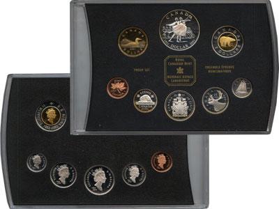 Изображение Подарочные монеты Канада Балет 2001  Proof Подарочный набор пос