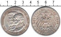 Изображение Монеты Саксония 5 марок 1909 Серебро XF 500-летие Лейпцигско