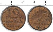 Изображение Монеты Данциг 10 пфеннигов 1932 Медь VF