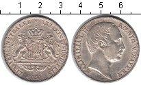 Изображение Монеты Германия Бавария 1 талер 1857 Серебро XF