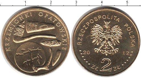 Картинка Мелочь Польша 2 злотых Медно-никель 2012