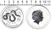 Изображение Монеты Австралия 2 доллара 2013 Серебро UNC Елизавета II. Год зм