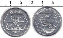 Изображение Монеты Португалия 200 эскудо 1991 Серебро UNC-