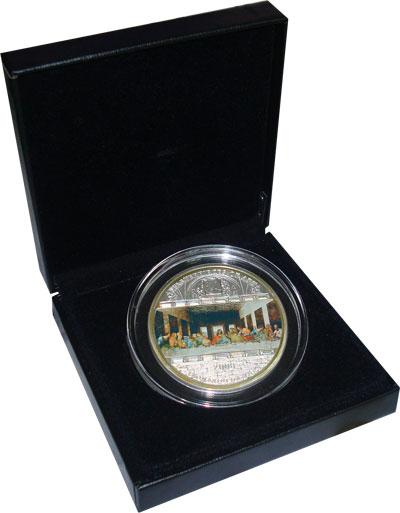 Изображение Подарочные монеты Острова Кука 20 долларов 2008 Серебро UNC `На монете изображен