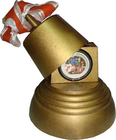 Изображение Подарочные монеты Ниуэ Трое из Простоквашино 2009 Серебро Proof `Подарочный набор со