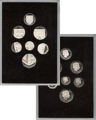 Изображение Подарочные наборы Великобритания Выпуск монет 2008 2008  Proof Подарочный набор мон