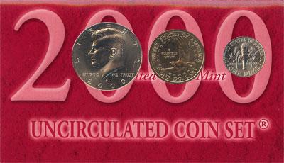 Изображение Подарочные наборы США США 2000 2000  UNC