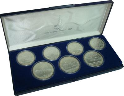 СССР Олимпийские игры 1980 1980 Серебро