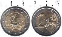 Изображение Мелочь Португалия 2 евро 2011 Биметалл UNC- 500 лет со дня рожде