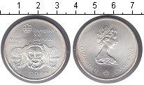 Изображение Монеты Канада 10 долларов 1974 Серебро UNC Олимпиада-1976 в Мон