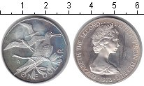Изображение Монеты Виргинские острова 1 доллар 1973 Серебро UNC- Птицы