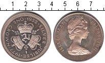 Изображение Монеты Великобритания Остров Мэн 1 крона 1977 Серебро Proof-