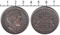 Изображение Монеты Бавария 2 гульдена 1855 Серебро XF Максимилиан II