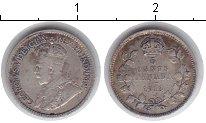 Изображение Монеты Канада 5 центов 1913 Серебро VF Георг V