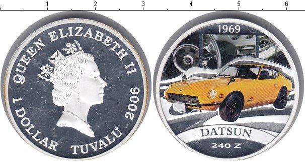 Картинка Монеты Тувалу 1 доллар Серебро 2006