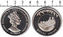 Изображение Мелочь Фолклендские острова 50 пенсов 2002 Медно-никель UNC-