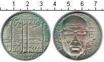 Изображение Монеты Финляндия 10 марок 1975 Серебро UNC- 75-летие президента