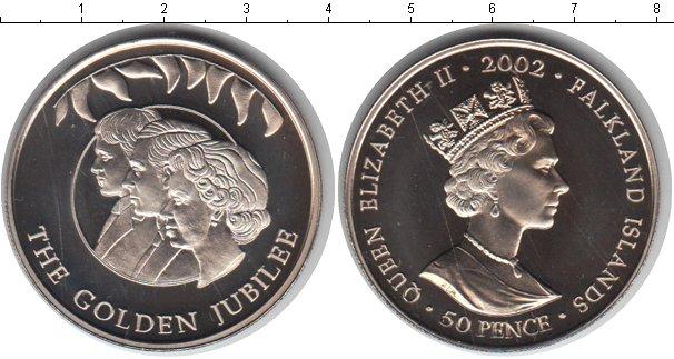 Картинка Мелочь Фолклендские острова 50 пенсов  2002