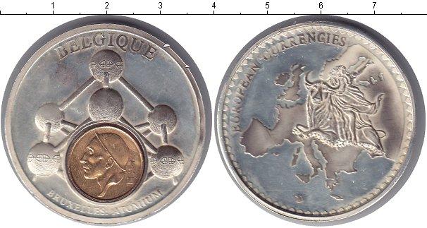 Картинка Монеты Бельгия Жетон Биметалл 0