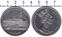 Изображение Мелочь Остров Мэн 1 крона 1994 Медно-никель Proof-
