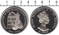 Изображение Мелочь Остров Святой Елены 50 пенсов 2003 Медно-никель UNC